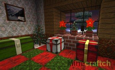 Lithos Christmas - Новогодние текстуры для Майнкрафт