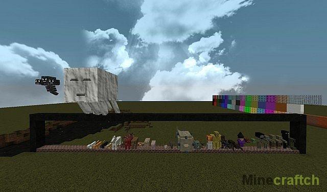Текстуры MineCraft разрешение 512x512