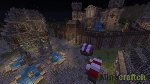 Gielinor — карта в жанре RPG для Minecraft 1.9/1.10.2
