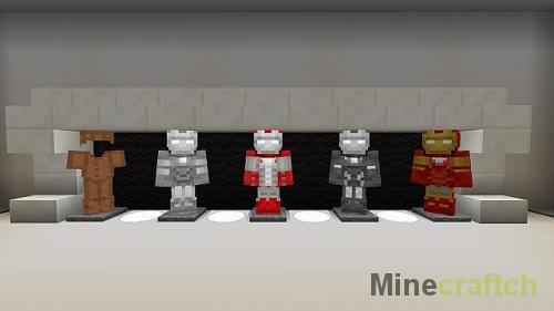 Iron Man - Текстур пак Железный Человек для Майнкрафт
