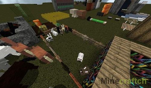The Miner Scrolls - Текстуры Скайрим для Майнкрафт