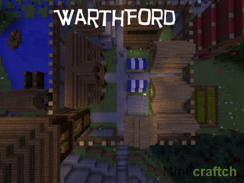 Приключенческая карта Warthford для Minecraft 1.9
