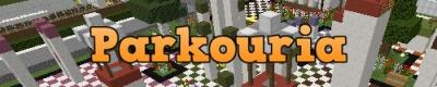Parkouria — карта Школа паркура для Minecraft 1.9, 1.8