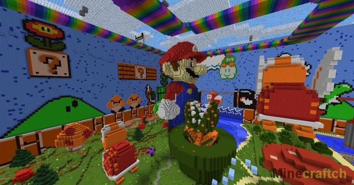 скачать карту для Minecraft прятки img-1