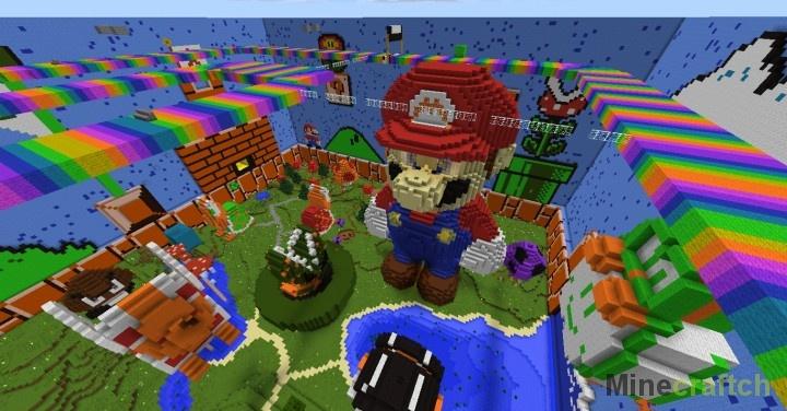 скачать карту для Minecraft прятки - фото 6