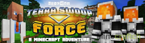 Terra Swoop Force — карта для Minecraft 1.9/1.11