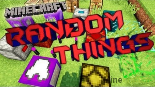 Random Things — мод на вещи для Майнкрафт 1.9.4/1.9/1.8.9/1.7.10