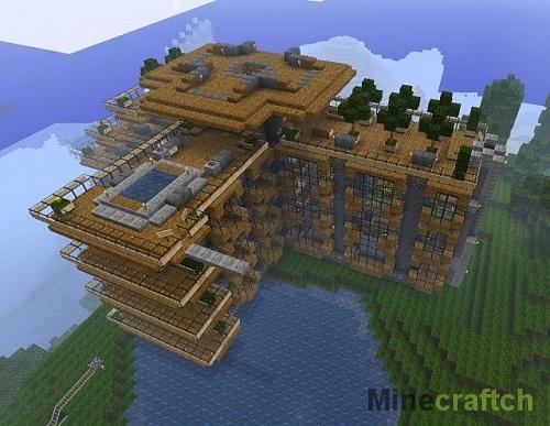 Hillside Manor World — карта Поместье Хиллсайд для Minecraft