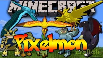 Pixelmon — мод на покемонов для Minecraft 1.8/1.10.2/1.12.2