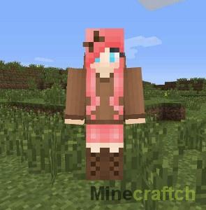 Скин Domo Girl для Minecraft