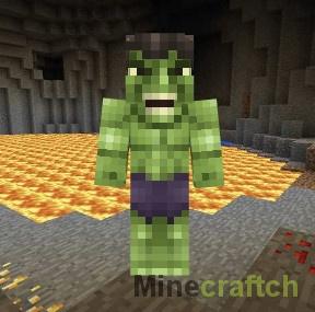 Скин Hulk для Minecraft