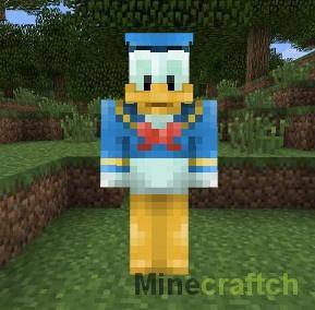 Скин Donald Duck для Minecraft