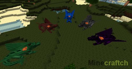 Различные виды драконов