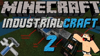 Мод Industrial Craft 2 для Minecraft 1.12.2/1.11.2/1.10.2/1.9.4/1.8.9