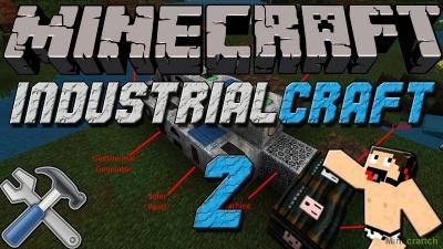 Мод Industrial Craft 2 для Майнкрафт 1.10.*/1.9.4/1.8.9