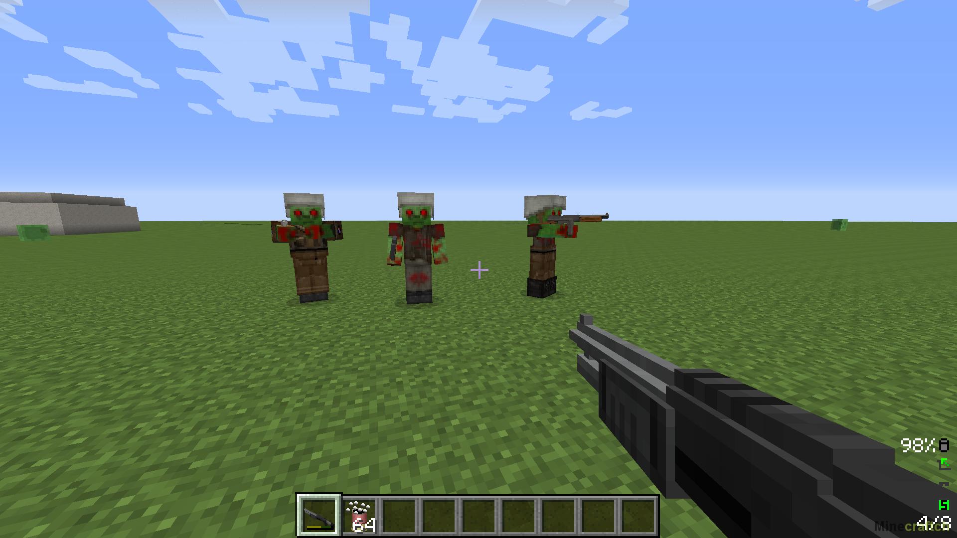 скачать моды на minecraft 1 7 2 на оружие