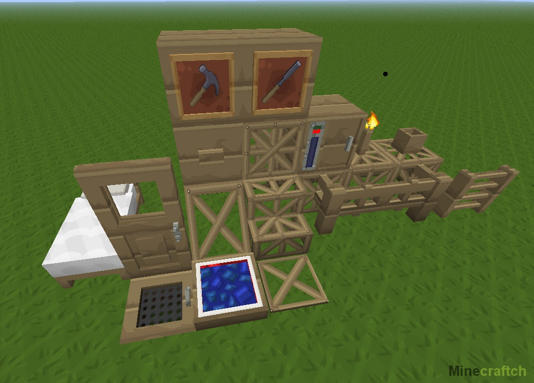 Мод Carpenter's Blocks для Minecraft 1.7.10/1.7.2/1.6.4/1 ...