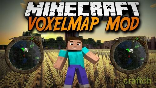 VoxelMap — мод на мини карту для Майнкрафт 1.10.*/1.9.*/1.8.9