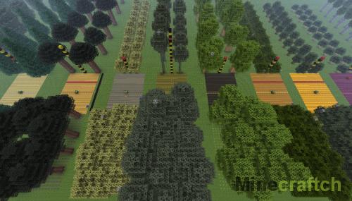 Мод Forestry для Minecraft 1.10.*/1.9.4/1.7.10