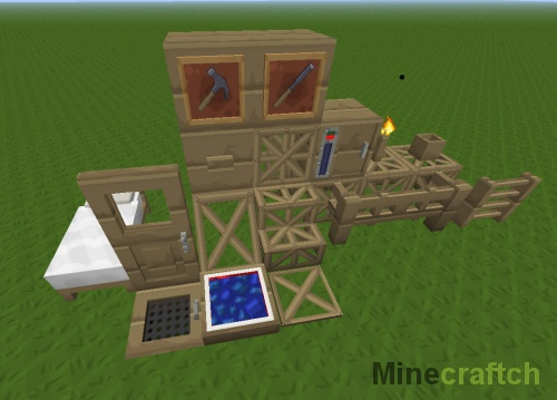Мод Carpenter's Blocks для Minecraft 1.7.10/1.7.2/1.6.4