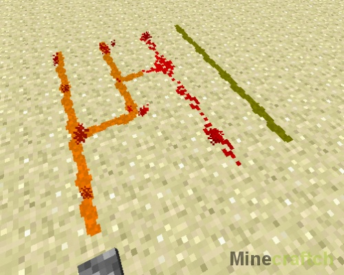 Мод на редстоун Redstone Paste для Minecraft 1.10.2