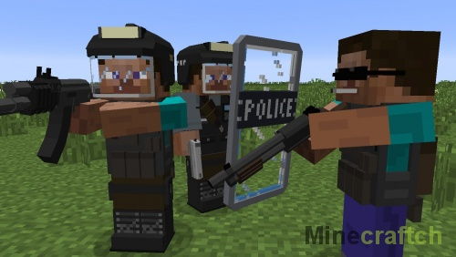 Мод Flan's для Minecraft 1.8