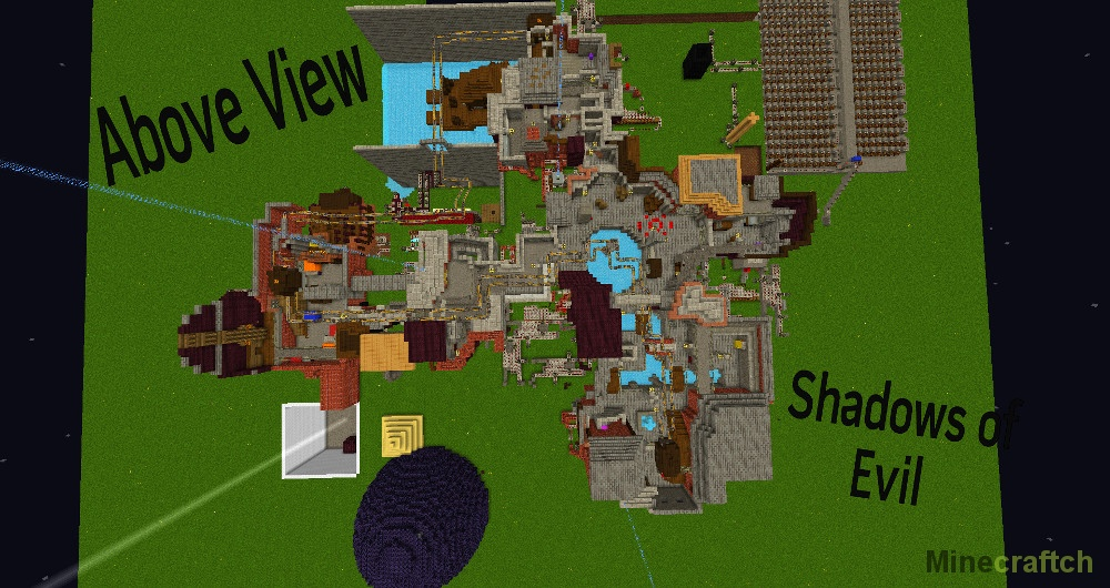 Скачать карту зомби апокалипсис на Майнкрафт 1.8