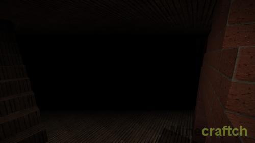 Хоррор карта Dark Forest для Minecraft 1.8.9