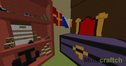 Карта для пряток Krusty Krab на Minecraft 1.8+