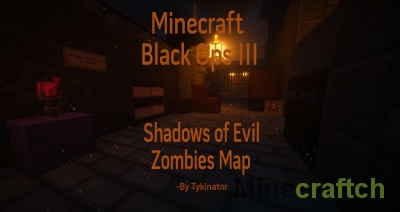 Карта Call of Duty: Black Ops III | Shadows of Evil для Minecraft 1.8