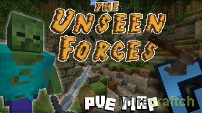 Карта The Unseen Forces для Minecraft 1.9