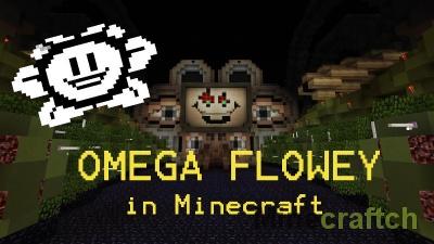 Карта Битва с боссом Омега Флауи для Minecraft 1.9