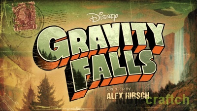 Карта Gravity Falls для Minecraft