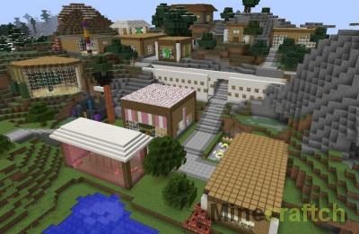 Lemonwood — карта с современной деревней для Minecraft 1.8-1.11