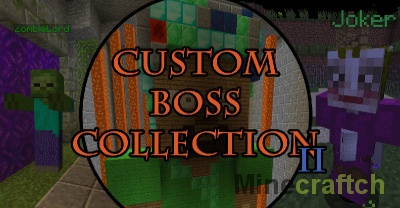 Карта Custom Boss Collection 2 — 90+ боссов в Minecraft 1.10.2/1.11/1.11.2