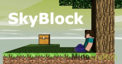 SkyBlock 3 — карта на выживание для Minecraft 1.12/1.11/1.10.2/1.10