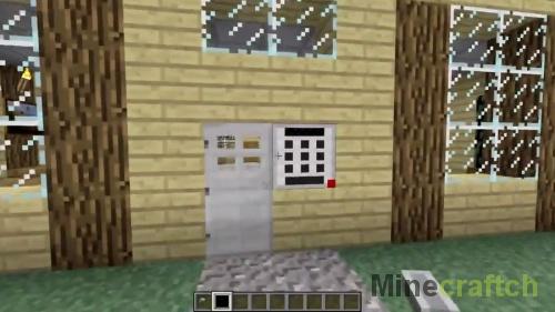 Дверь с кодовым замком