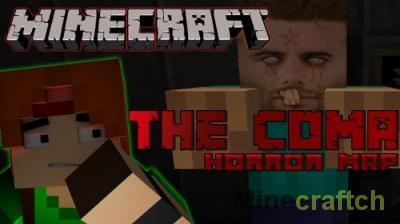 The Coma — хоррор-карта для Minecraft 1.12