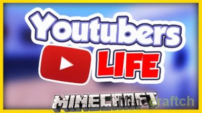 Карта «Жизнь Ютубера» — Youtubers Life в Minecraft