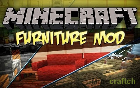 MrCrayfish's Furniture — мод на мебель в Minecraft 1.9.4/1.10.2/1.11.2/1.12.2