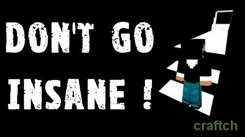 Don't go Insane — сходим с ума на карте в Minecraft 1.12-1.8