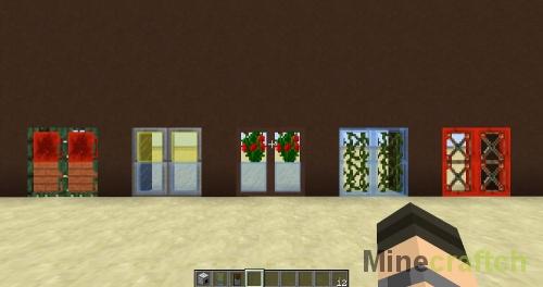 Созданные на фабрике двери