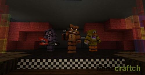 Прятки в «5 ночей с Фредди» — карта для Minecraft 1.12