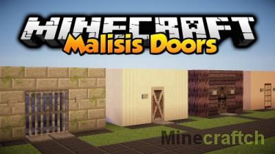 MalisisDoors — мод на двери для Minecraft 1.12/1.11.2/1.10.2/../1.7.10