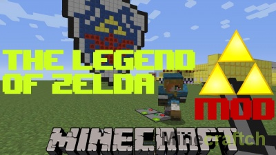 Мод Legend of Zelda для Minecraft 1.10.2/1.7.10/1.7.2/1.6.4