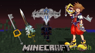 Kingdom Keys Re:Coded — мод на Kingdom Hearts в Minecraft