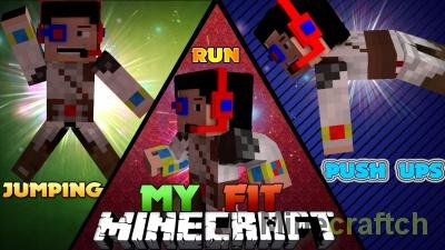 MyFit — мод на тренировки в Minecraft 1.7.10/1.8
