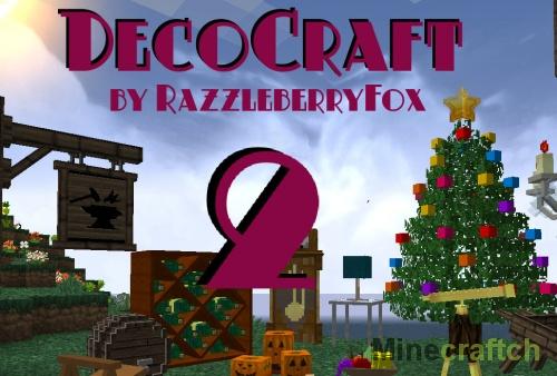 DecoCraft 2 — мод на декорации в Minecraft 1.11.2/1.10.2/1.9/1.8.9/1.7.10