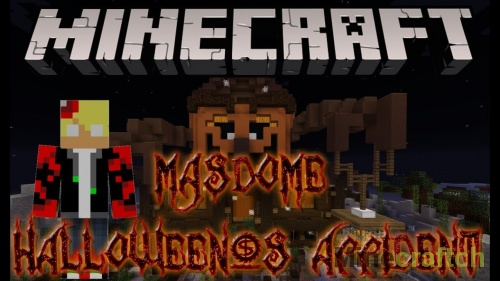 Карта MasDome Halloween's Accident — хоррор-приключения в Minecraft 1.12.2