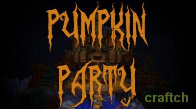 Карта Pumpkin Party — Хэллоуин в Minecraft 1.10.2/1.11/1.12.x